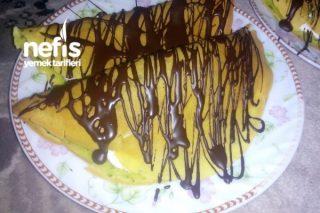 Ispanaklı Krep Pasta Tarifi
