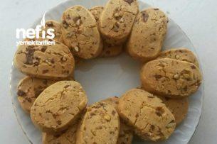 Tatlı Kurabiyeler - Nefis Çikolatalı Fındıklı Kurabiyeler Tarifi