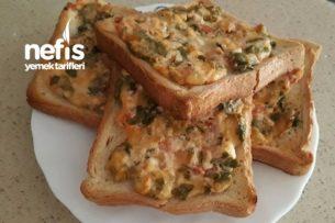 Kahvaltılık Tarifler - Tost Ekmeğinde Leziz Kahvaltılık Tarifi