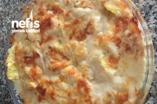 Beşamel Sos Ve Peynirli Patates Tarifi