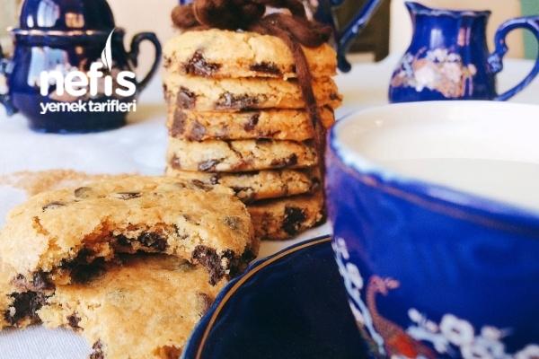 Chocolate Chip Cookie (Orjinal Amerikan Kurabiyesi) Tarifi