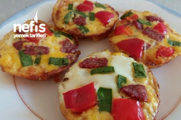 Kahvaltılık Muffin Omletler Tarifi