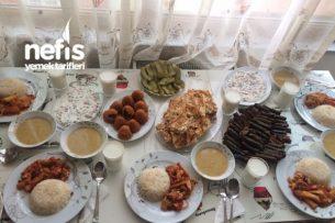 Menüler - Akşam Yemeği Menüsü Tarifi