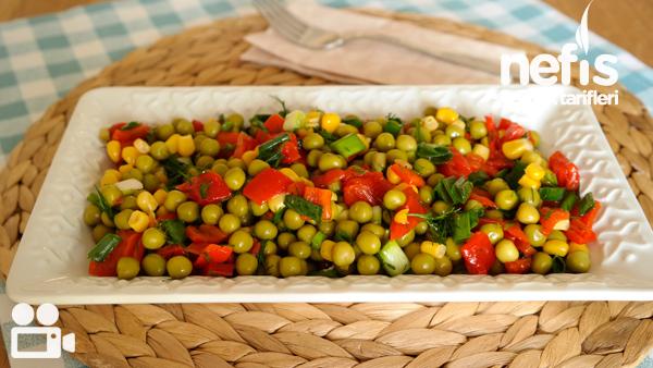 Bezelye Salatası Tarifi Videosu
