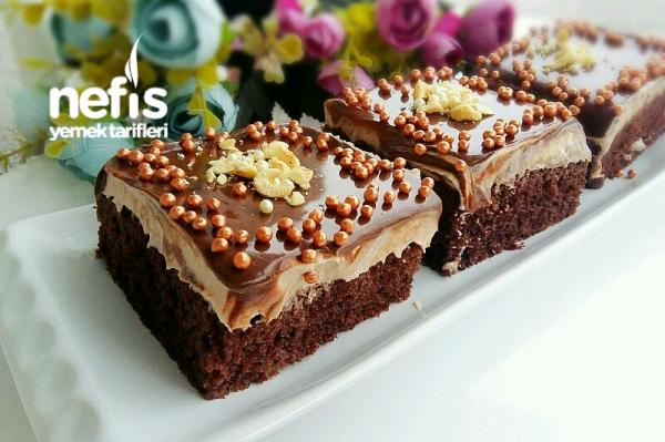 Duble Çikolatalı Islak Pasta