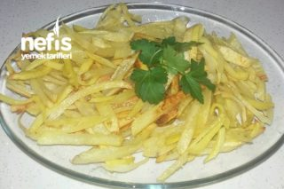 2 Kaşık Yağ İle Çıtır Çıtır Fırında Patates Kızartması Tarifi