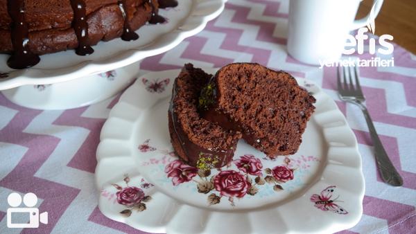 Browni Tadında Çaylı Kek Videosu