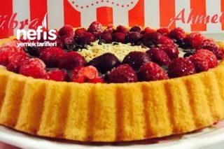 Meyveli Hazır Tart Kek Tarifi