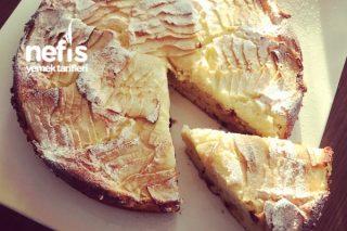 Soslu Elmalı Pasta Tarifi