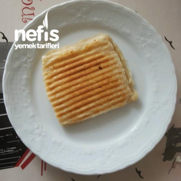 Milföy Tost Kahvaltıya