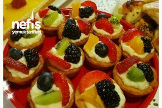 Mini Meyveli Tartolet Tarifi