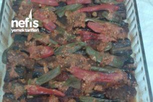 Fırında Nefis Köfteli Patlıcan Tarifi