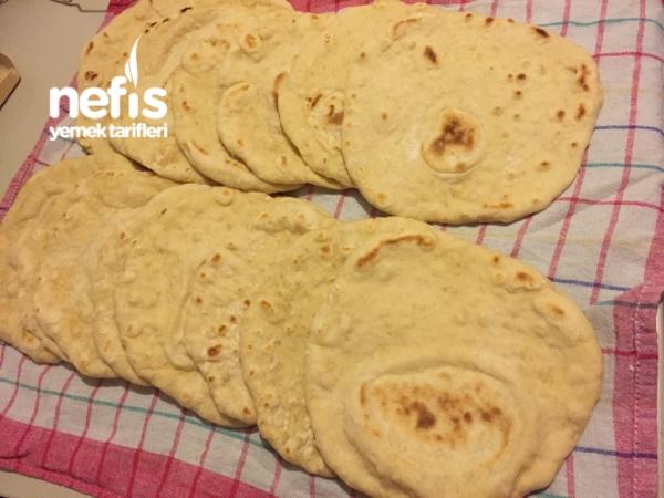 Tavada Mayalı Ekmek