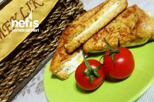 Tavada Yumurtalı Tost ( Fransız Tostu)