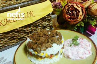 Etli Ve Sebzeli Pirinç Pilavı ( Mutlaka Denenmeli) Tarifi