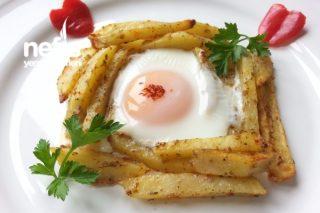 Fırında, Kahvaltılık Baharatlı Yumurtalı Patates Tarifi