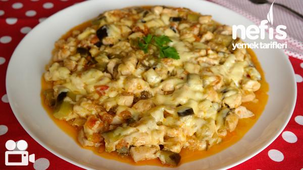 Kaşarlı Patlıcan Yemeği Videosu Tarifi