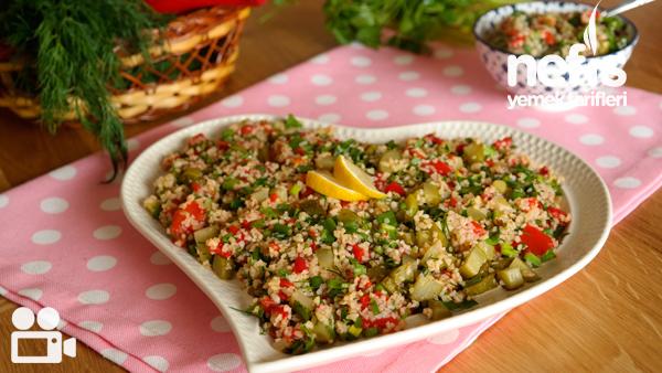 Bulgur Salatası Tarifi Videosu