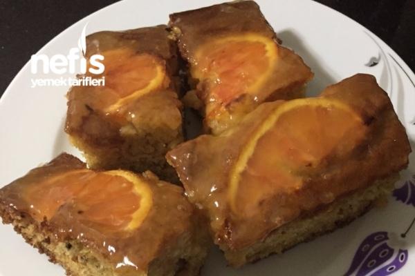 Portakallı Cevizli Kek Tarifi
