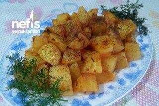 Soslu Baharatlı Közlenmiş Patates (Et Balık Yanına) Tarifi