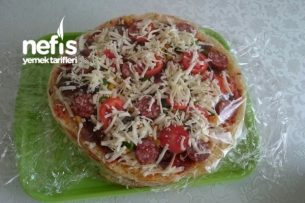 Bazlama Pizza (Buzlukta Saklanabilir) Tarifi