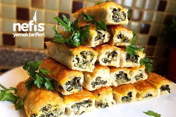 Çıtır Ispanaklı Peynirli Börek Tarifi