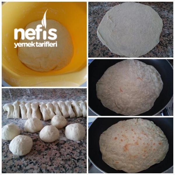 Evde Şahane Lavaş Ekmek