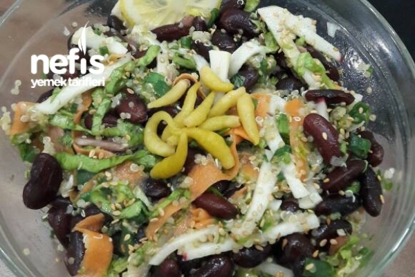 Nefis Salata (Bol Protein Ve Lif Kaynağı)