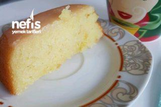 Yumurtasız Sütsüz Limonlu Baton Kek Tarifi