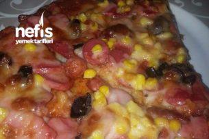 Glutensiz Ev Yapımı Pizza Tarifi