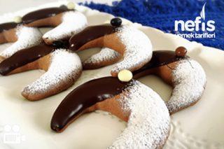 Kahveli Ve Çikolatalı Ay Kurabiye Videosu Tarifi