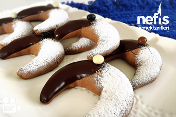 Kahveli Ve Çikolatalı Ay Kurabiye Videosu