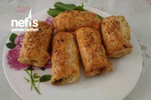 Pratik Milföyden Ispanaklı Börek Tarifi