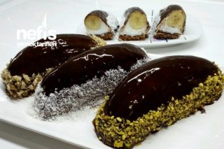 Çikolata Soslu Malaga Pasta Tarifi