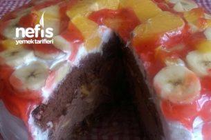 Kakaolu Meyveli Pasta Tarifi