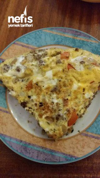 Kıymalı Omlet