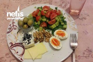 Fit Kahvaltı Tarifi