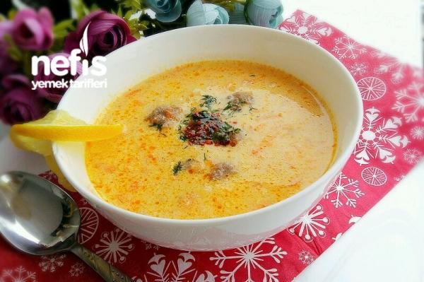 Köfteli Çorba (Supa Topcheta)