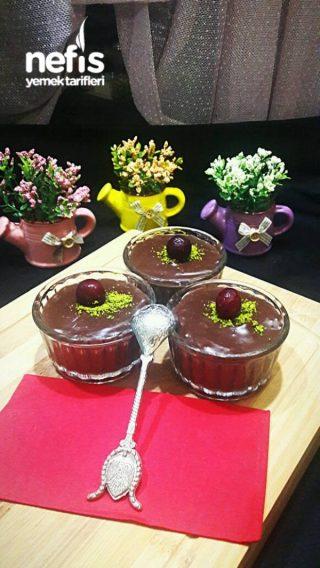 Kremalı Çikolatalı Ev Yapımı Puding
