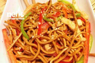 Tavuklu Noodle (Çin Eriştesi) Tarifi