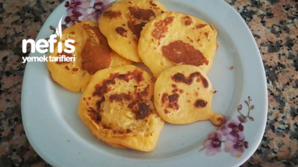 Portakal Sulu Elmalı Bebek Pankeki (+8 Ay)