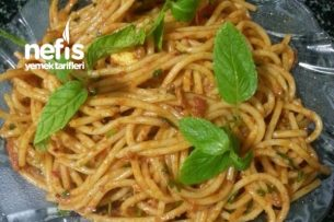 Yumurtalı  Spagetti Tarifi