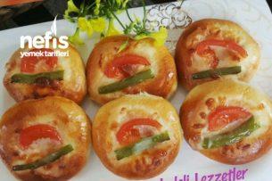 Yumuşacık Pizza Poğaçalar Tarifi