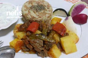 Etli Patates Yemeği ( Fırında ) Tarifi