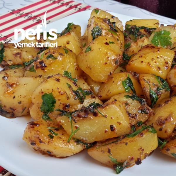 Kahvaltılık Tereyağlı Patates Sote