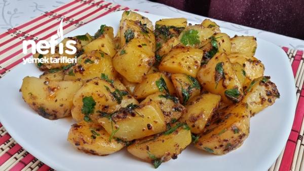 Kahvaltılık Tereyaglı Patates Sote