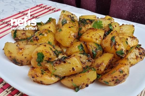 Kahvaltılık Tereyağlı Patates Sote Tarifi