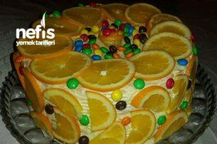 Nefis Portakallı Pasta Tarifi