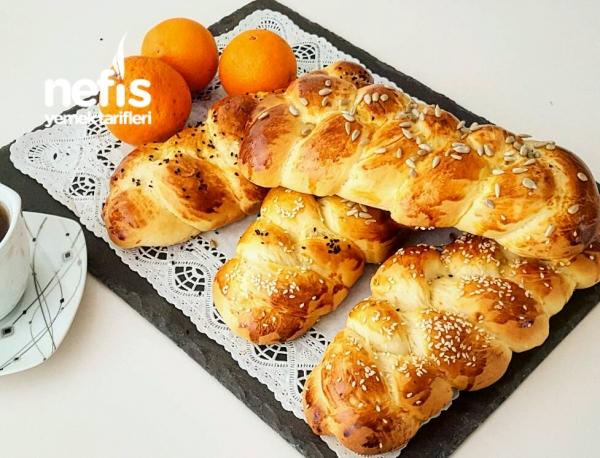 Portakallı Paskalya Çörek
