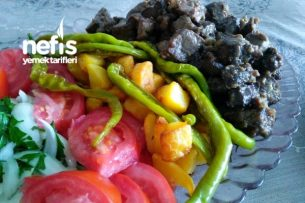 Arnavut Ciğeri  Eşliğinde Patates Kızartması Tarifi